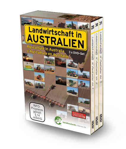 Agriculture in Australia - Collection box 3xDVD