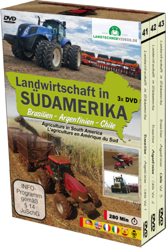 Agriculture in South America [3xDVD]