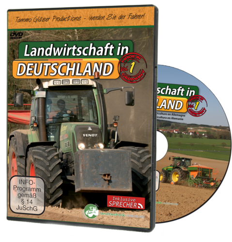 Agriculture in Germany Vol. 1