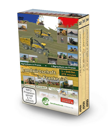 Agricoltura in Francia (3xDVD)