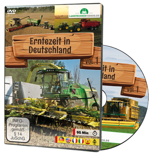 Harvest time in Germany [DVD]